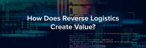 How Does Reverse Logistics Create Value? - Banner