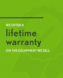 lifetime warranty on oil industry equipment