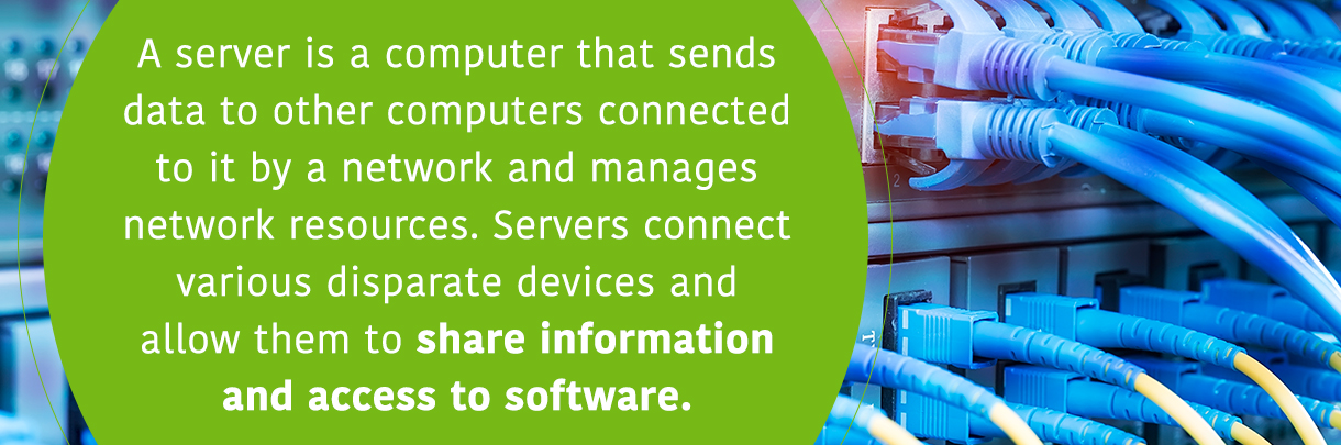 Share information and access to software