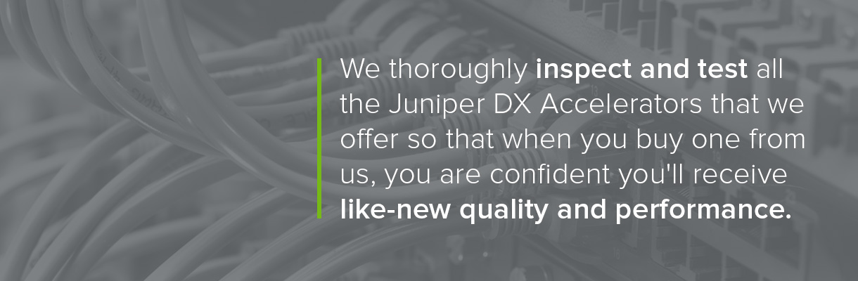Juniper Application Accelerators
