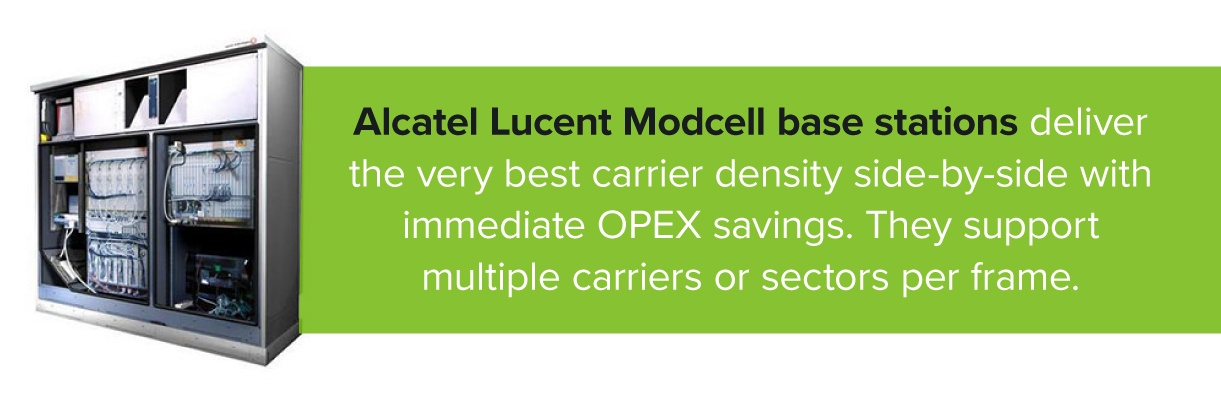 Alcatel Lucent Modcell Base Station