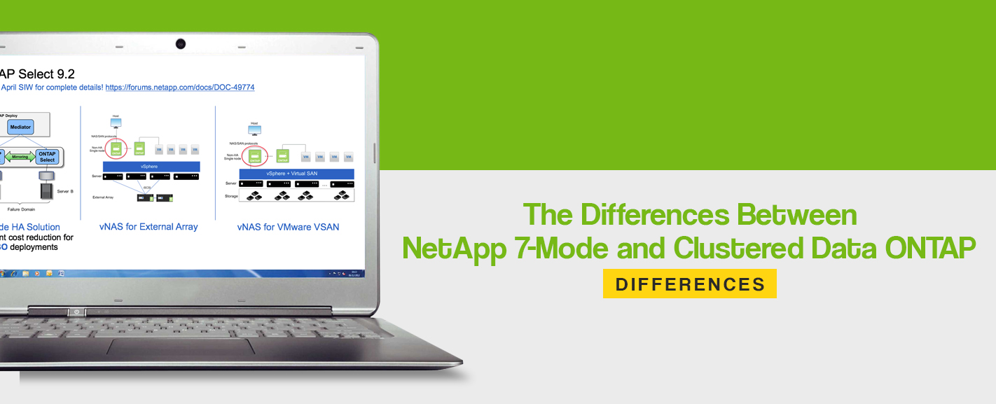Differences Between NetApp 7-Mode and Clustered Data ONTAP